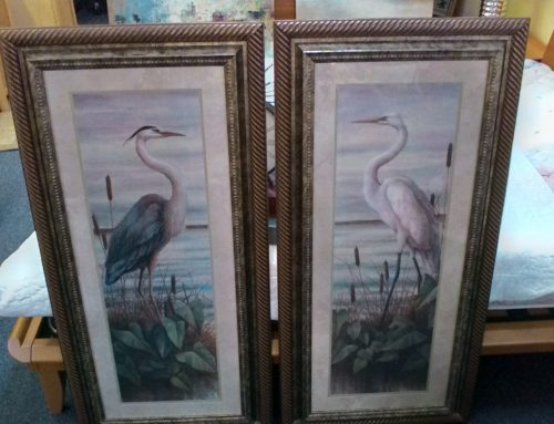 Egret Pictures $99 EACH sell as a set Clark Store Location